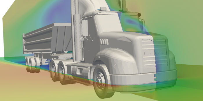 Truck cfd aerodynamics