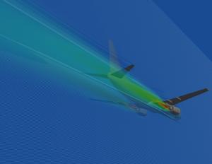 aircraft cfd simulation