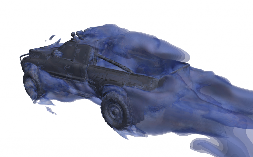 ground vehicle car cfd simulation cfd consulting