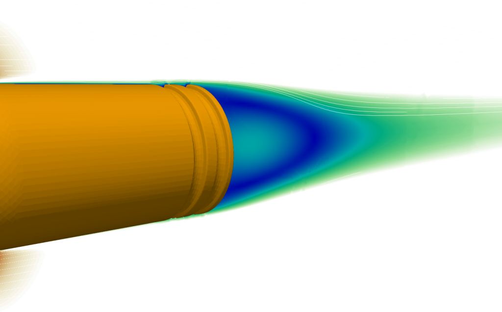 Bullet aerodynamics CFD simulation drag accuracy stability