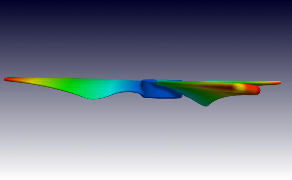 propeller strömungsmaschine cfd simulation